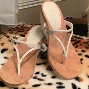 Ralph Lauren Ladies Cork Sandal Wedges